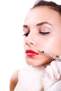 Botox beauty treatment injection