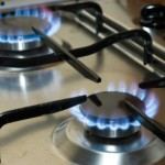 Cooking surface and gas rings