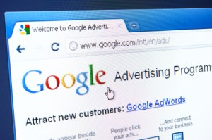 Google AdWords in browser