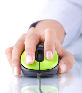 Mouse being used to make a conversion